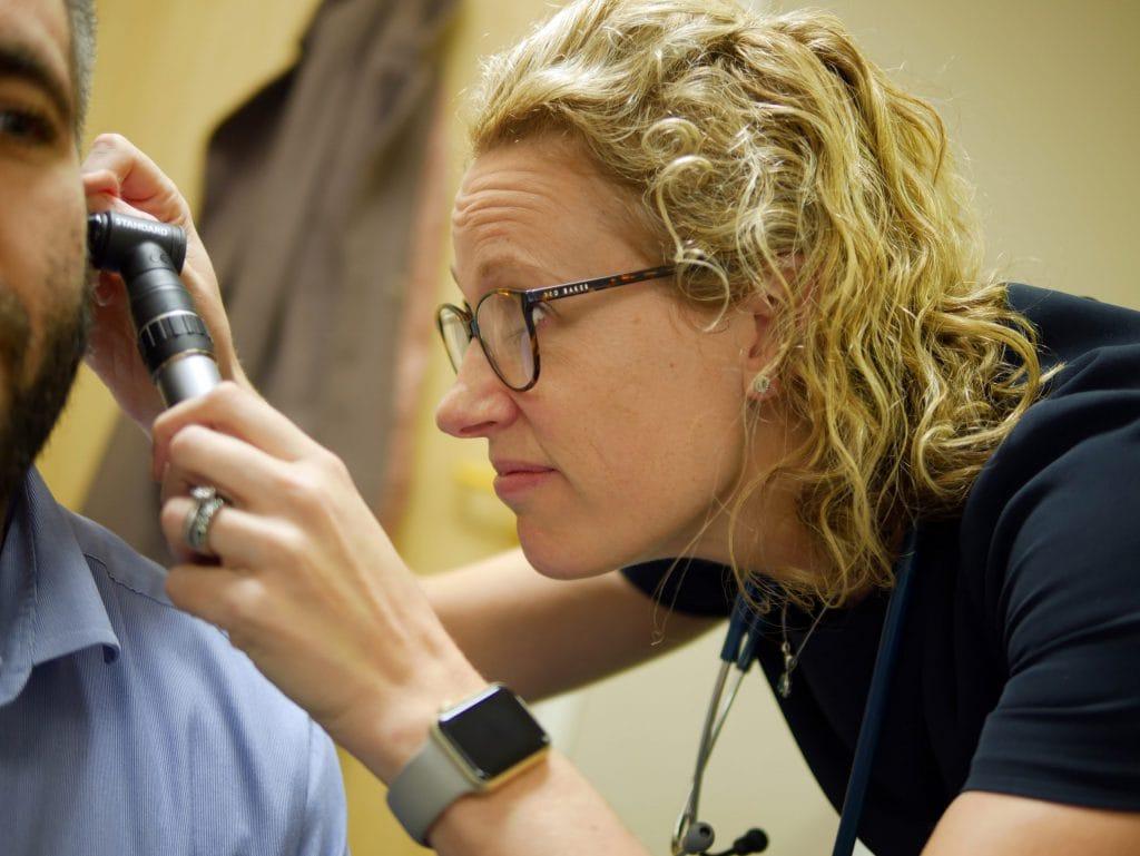 GP ear inspection