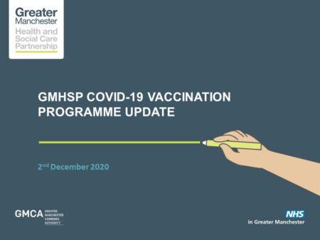 Covid-19 vaccine programme webinar 02/12/2020