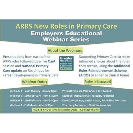 ARRS Employers educational webinars