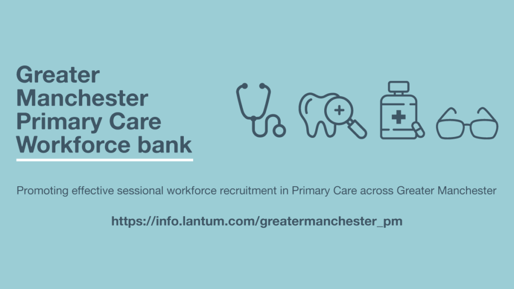 Greater Manchester Primary Care Workforce bank