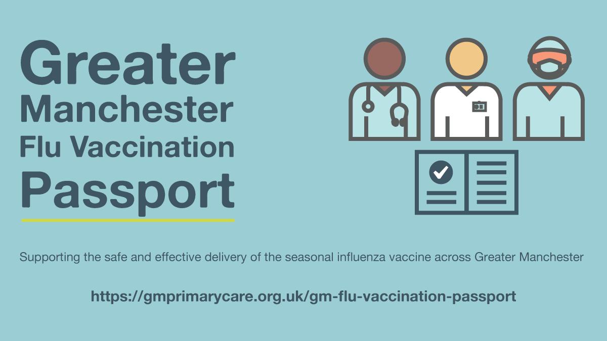 GM Flu Vaccination Passport